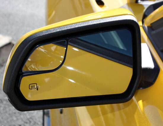 2015 Mustang left side mirror