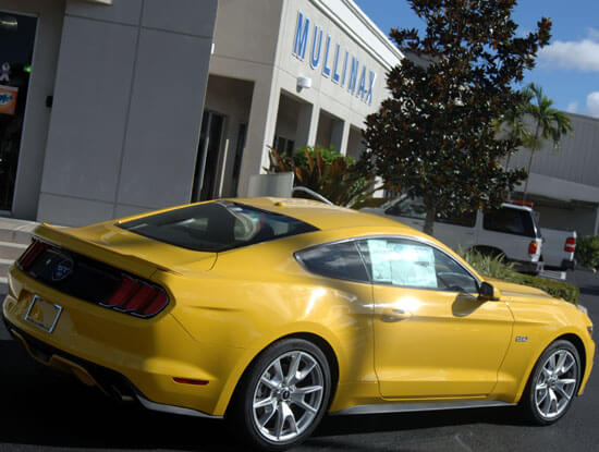 2015 Mustang rear right