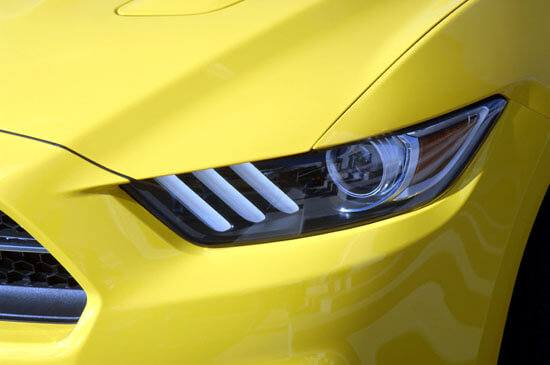 2015 Mustang left head light
