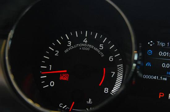 2015 Mustang tachometer