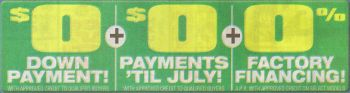 example car dealer ad