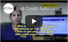 Bad Credit Auto Loan Video