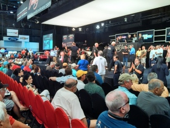 crowd at barrett-jackson
