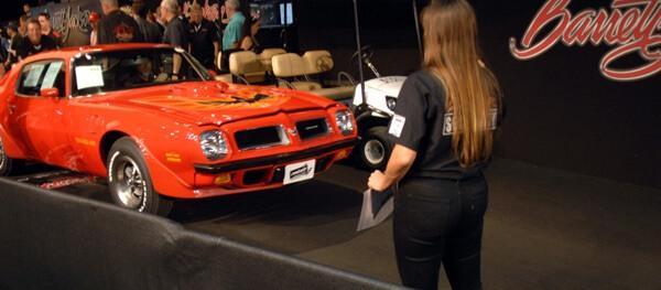 1974 Pontiac Trans Am 455 Super Duty Presented by Burt Reynolds