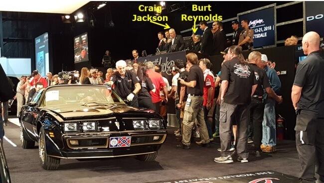 Burt Reynolds Barrett-Jackson image 1