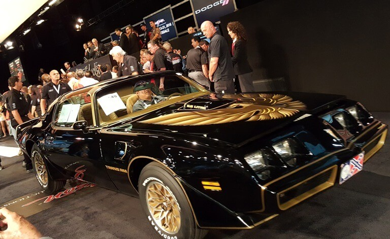 Burt Reynolds auctioned off this 1979 Pontiac Trans Am for $78,000