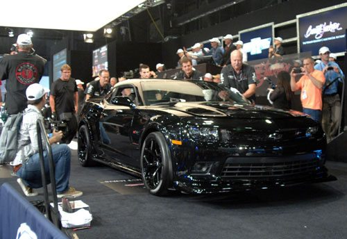 First Production 2015 Camaro Z28 at Barrett-Jackson
