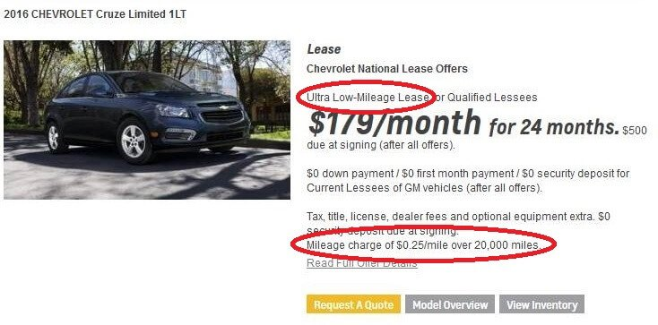 Shockingly Misleading Car Lease Advertising