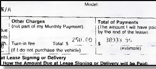 Car Lease Disposition Fees Explained image 2