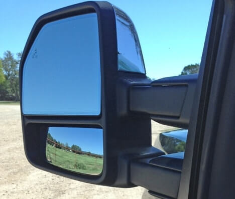 Ford F  Power Telescoping Mirror