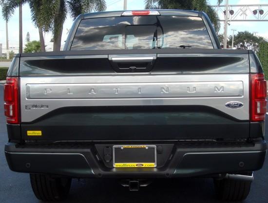 2015 f-150 rear tailgate