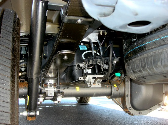2015 f-150 undercarriage