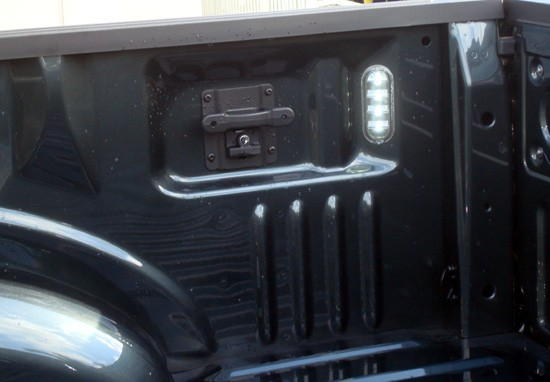 2015 cargo box led light and tie down