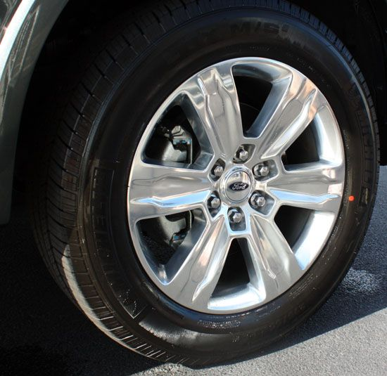 2015 f-150 wheel and tire