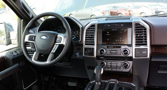 2015 f-150 interior