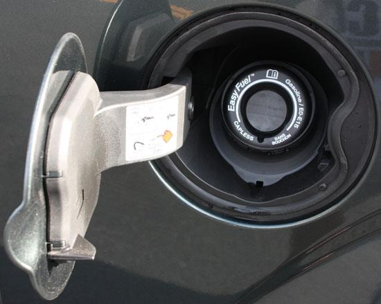 2015 f-150 Easy Fuel capless gas tank