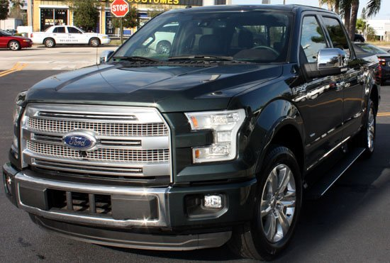 2015 f-150 left front