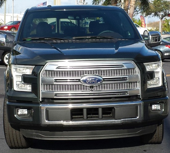 2015 f-150 front view