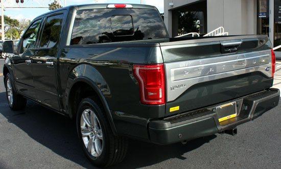 2015 f-150 left rear