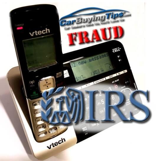 IRS Scam image