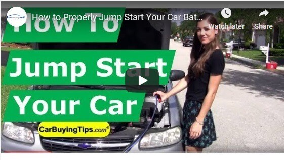 How to Jumpstart a Car Video