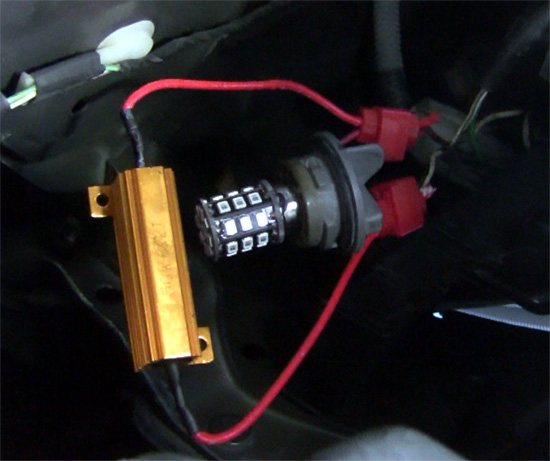led load resistor how to change your vehicle's turn signal bulbs and upgrade to leds  at crackthecode.co