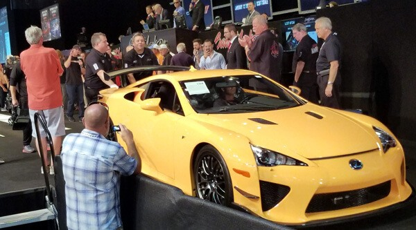 2012 Lexus LFA Nürburgring Edition sells for record $700,000 at ...
