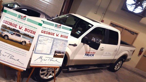 President Bush's 2009 Ford F-150 King Ranch SuperCrew Pickup Truck (Lot #3004) – $90,000