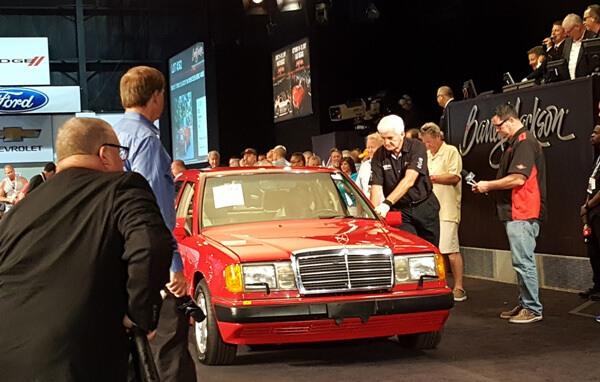Shirley Temple Black's 1993 Mercedes-Benz 400SE (Lot #362) - $18,150