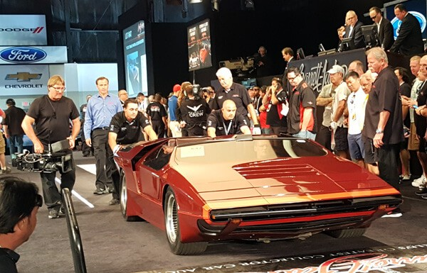 1972 De Tomaso Pantera Custom Roadster (Lot #647) - $48,400