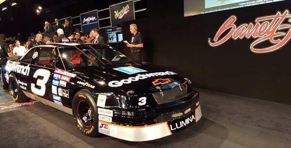 Dale Earnhardt's #3 Goodwrench 1989 Chevrolet Lumina Race Car (Lot #648) - $220,000