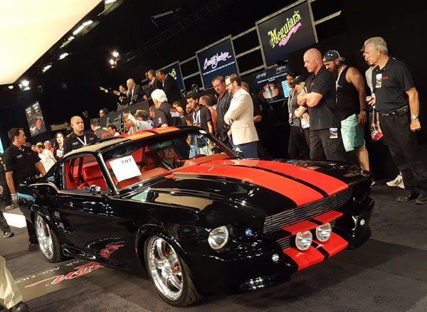 Reggie Wayne's 1967 Ford Mustang GT Custom Fastback (Lot #707) - $206,800