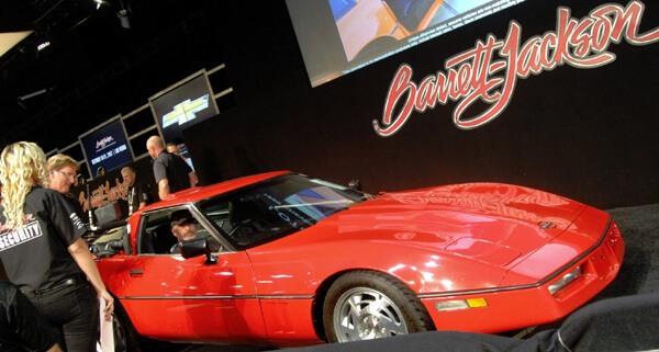 1990 Chevrolet Corvette Right-Hand-Drive Coupe (Lot #72.2) - $13,200