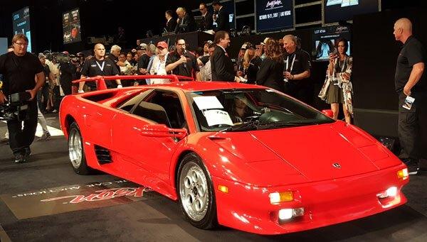1994 Lamborghini Diablo VT (Lot #744) - $139,700