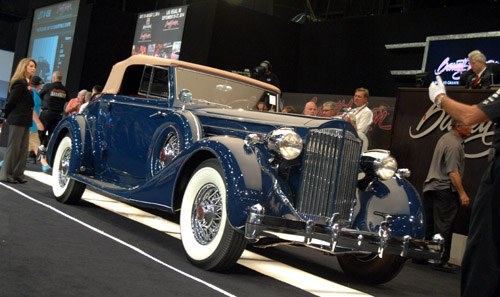 1935 Packard 1207 Convertible
