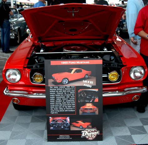 Barrett-Jackson lot 85 - 1965 Mustang