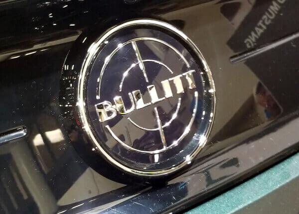 2019 Ford Mustang Bullitt Badge