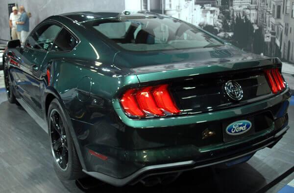 2019 Ford Mustang Bullitt - Rear with Badge