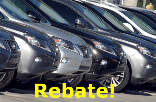 New Car Rebates