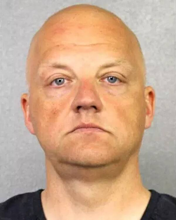 FBI arrested VW executive Oliver Schmidt. Photo courtesy Broward Sheriff's Office