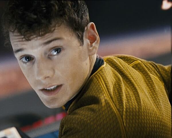 Anton Yelchin portrays Pavel Chekov in the newer Star Trek films. Courtesy Paramount Pictures.