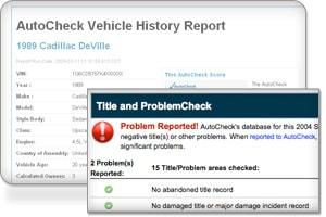Autocheck Problem
