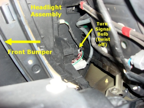 How to change your vehicle's turn signal bulbs and upgrade